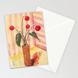 Flowers in a vase 1 Stationery Cards