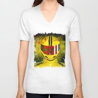 kill bill V-neck T-shirts featuring kill bill by MAKE ME SOME ART