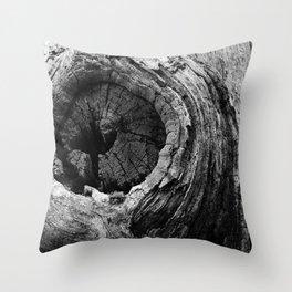 Bark Throw Pillow