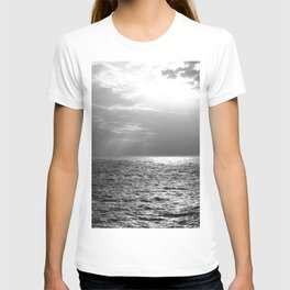 Black and White Sea T-shirt