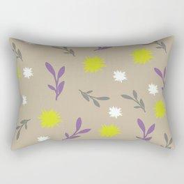 Floral pastel Rectangular Pillow