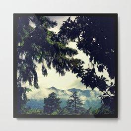 Misty Mt. Tamalpais Metal Print
