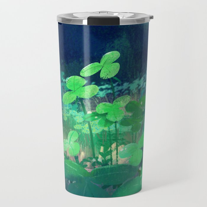 clovers Travel Mug