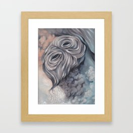 Demon (anxiety) Framed Art Print