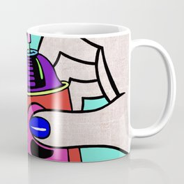 Pop art sprays graffiti Coffee Mug