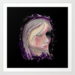 Beauty, Light Interpretation #6 Art Print