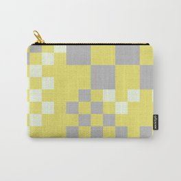 Sunset in Bilbao in grey and yellow Carry-All Pouch