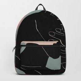 Abstract Art Girl 2 Backpack