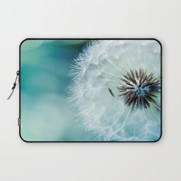 Dandelion Seeds Blowball Macro Close Up Laptop Sleeve