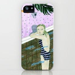 empty pool iPhone Case