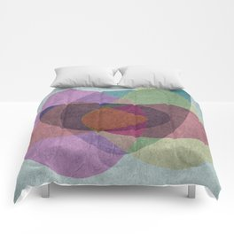 Pregnant Oyster III Comforters