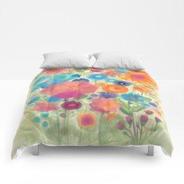 Flower Power Garen by Odette Lager Comforters