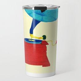 Gramophone Love Travel Mug
