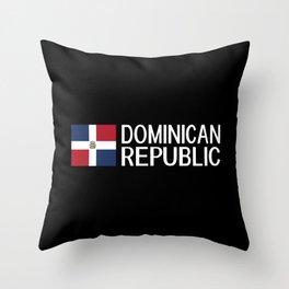 Dominican Republic: Dominican Flag & Dominican Rep Throw Pillow