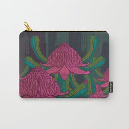 Waratah Forest Carry-All Pouch