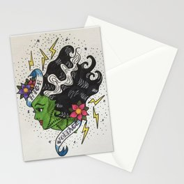 """""""High Voltage"""" Vintage Tattoo Stationery Cards"""