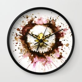 """""""Into the mirror"""" n°6 The eagle Wall Clock"""