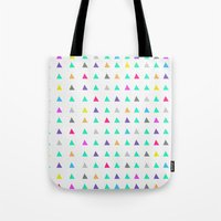 confetti Tote Bags featuring Confetti by Leah Flores