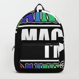 I'm A Paintball Machine Backpack