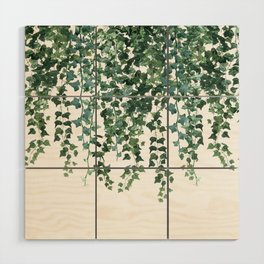 Ivy Vine Drop Wood Wall Art
