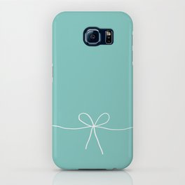 Tiffany Blue With a Bow iPhone Case