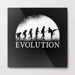 Karate Evolution Metal Print