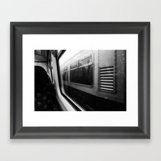 Surface Tension: Commute to City Centre Framed Art Print