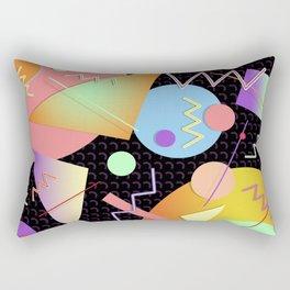 Memphis #412 Rectangular Pillow