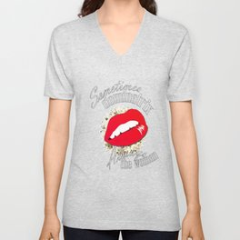 Be The Woman Unisex V-Neck