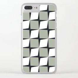 Rhombus Clear iPhone Case