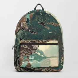 Gateway to something brighter Backpack