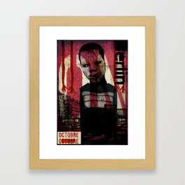 Berlin Poster art design Framed Art Print