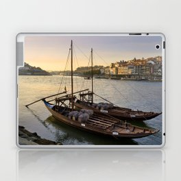 Oporto sunset,  Portugal Laptop & iPad Skin