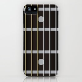 Guitar Neck Fretboard - Music iPhone Case