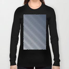 Whiskers Navy #583 Long Sleeve T-shirt