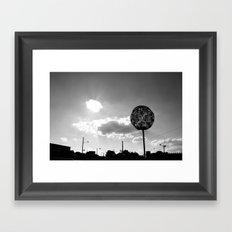 Memphis Framed Art Print