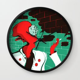 Smoker Wall Clock