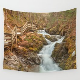 Centipede Step Falls Wall Tapestry