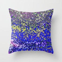Multicolor Mandala Art Throw Pillow