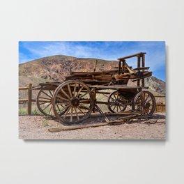 Calico Ghost Town - 7062, California Metal Print