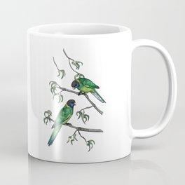 Ringneck Parrots Coffee Mug