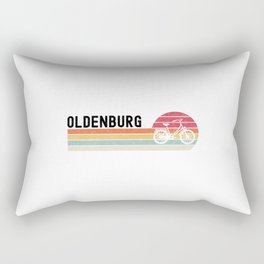 Oldenburg  TShirt Bicycle Shirt Bike Gift Idea Rectangular Pillow