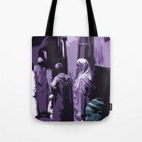 arab Tote Bags featuring Arab World by Sergio Silva Santos