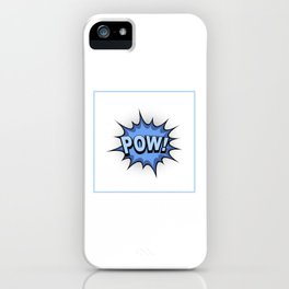 POW! Comic Book iPhone Case