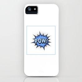 POW! Comic Book iPhone Case