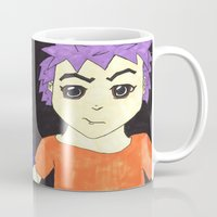 manga Mugs featuring Manga pals by Betty Apple Pie