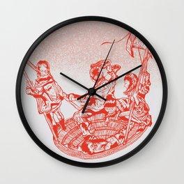 La meduse Wall Clock