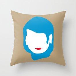 EMPTY FACES #2 Throw Pillow