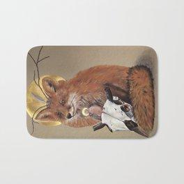 The Fox Bath Mat