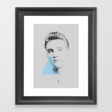 Elvis   Esperantos   Dot-file #2 Framed Art Print